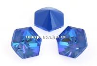 Swarovski, fancy Kaleidoscope hexagon, ocean DeLite, 14mm - x1