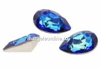 Swarovski, fancy picatura, bermuda blue, 10x7mm - x1