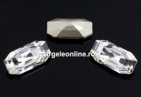 Swarovski 4595, Elongated Imperial, crystal, 12x6mm - x1