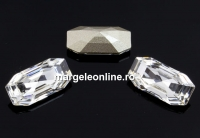 Swarovski 4595, Elongated Imperial, crystal, 16x8mm - x1