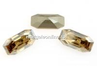 Swarovski 4595, Elongated Imperial, golden shadow, 8x4mm - x2