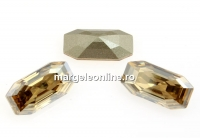 Swarovski 4595, Elongated Imperial, golden shadow, 16x8mm - x1