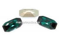 Swarovski 4595, Elongated Imperial, emerald, 8x4mm - x2
