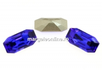 Swarovski 4595, Elongated Imperial, majestic blue, 16x8mm - x1