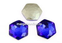 Swarovski 4683, fantasy hexagon, majestic blue, 12mm - x1