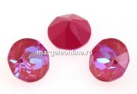 Swarovski, chaton SS29, Lotus Pink DeLite, 6mm - x4