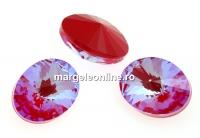 Swarovski, fancy oval, Royal Red DeLite, 18x13.5mm - x1