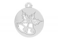 Pandantiv argint 925, clopotei, 12mm  - x1