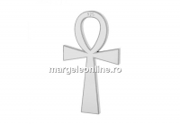 Pandantiv argint 925, cruce, 17mm  - x1