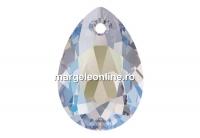Swarovski, pandantiv picatura, crystal shimmer, 9mm - x2