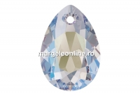Swarovski, pandantiv picatura, crystal shimmer, 11.5mm - x2