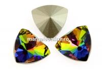 Swarovski, fancy rivoli kaleidoscope triangle, vitrail medium, 6mm - x2