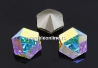 Swarovski, fancy Kaleidoscope hexagon, aurore boreale, 9.4mm - x1