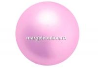 Perle Preciosa, rosaline, 12mm - x10