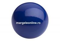 Perle Preciosa, navy blue, 4mm - x100