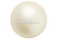 Perle Preciosa, cream, 8mm - x50