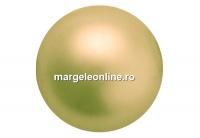 Perle Preciosa, gold, 8mm - x50
