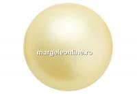 Perle Preciosa, vanilla, 4mm - x100