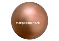 Perle Preciosa, bronze, 4mm - x100