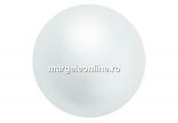 Perle Preciosa, white, 8mm - x50
