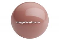 Perle Preciosa, salmon rose, 4mm - x100