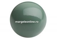 Perle Preciosa, sage, 4mm - x100
