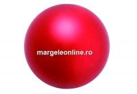 Perle Preciosa, red, 4mm - x100
