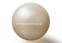 Perle Preciosa, pearlescent yellow, 6mm - x100