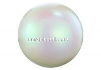 Perle Preciosa, pearlescent white, 6mm - x100