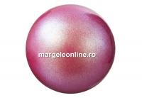 Perle Preciosa, pearlescent red, 12mm - x10