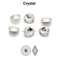 Preciosa rivoli, crystal, 8mm - x2