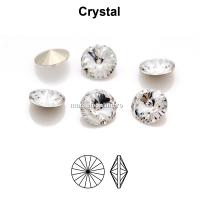 Preciosa rivoli, crystal, 10mm - x2