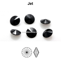 Preciosa rivoli, jet, 10mm - x2