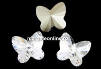 Preciosa, fancy fluture, crystal, 5mm - x2