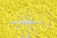 Miyuki - margele Delica® opaque yellow