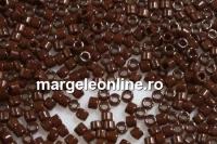 Miyuki - margele Delica® opaque dark chocolate
