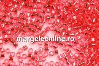 Miyuki - margele Delica® silver-lined dark pink