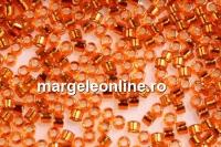 Miyuki - margele Delica® silver-lined light orange