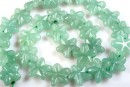 Green aventurine, star, 16mm