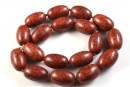 Chocolate magnesite, oval tube, 22.5mm