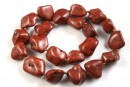 Chocolate magnesite, free form nugget, 18-23mm