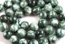 Seraphinite, round, 10mm - x2