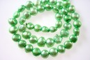 Perle de cultura - 9-10mm, verde