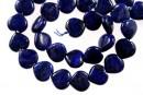 Natural lapis lazuli, heart, 14mm
