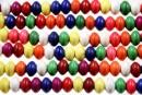 Multicolor magnesite, rondelle, 6mm