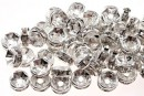 Spacer Rhinestone, transparent cu irizatii, 6mm - x10