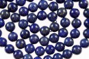 Lapis lazuli, round, 5mm