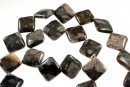 Llanite, flat square , 18x18mm