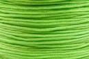 Snur matase pentru bratari, verde fistic, 0.8mm - x5m