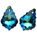 Swarovski,  baroque pendant, bermuda blue, 22mm - x1